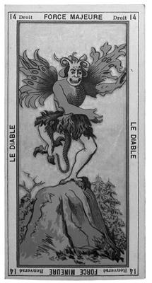 etteilla devil card